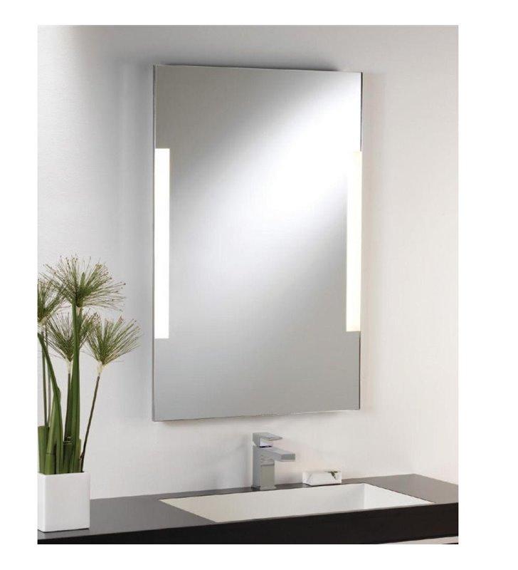 Lustro z oświetleniem do łazienki Imola 80x45cm włącznik sznureczkowy