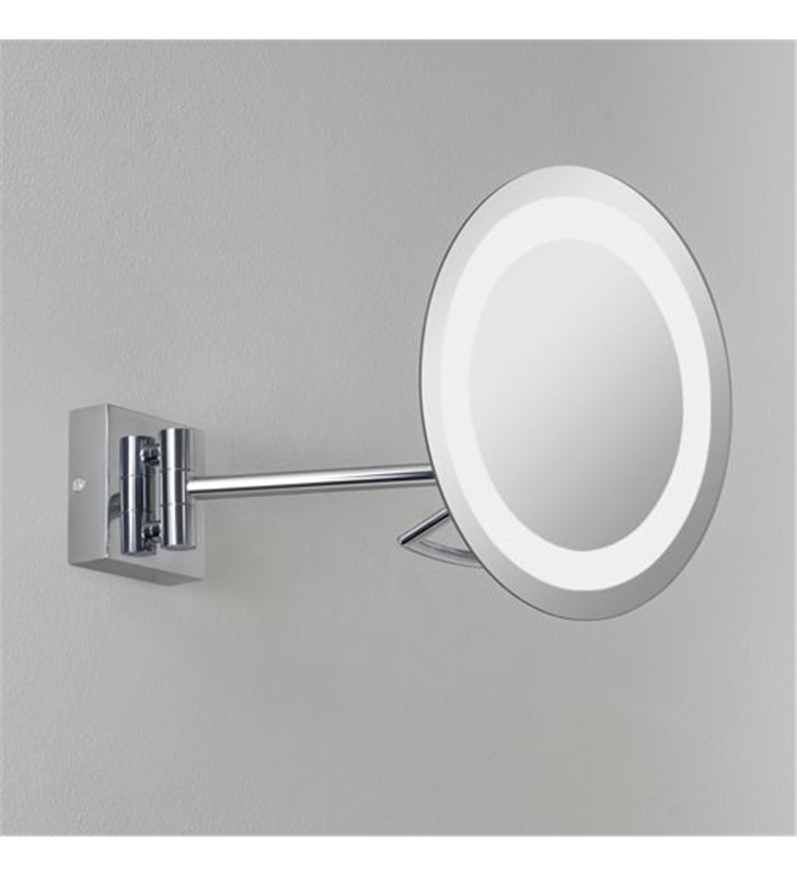 Lustro łazienowe z oświetleniem Gena Plus 3 krotne powiększenie np. do makijażu