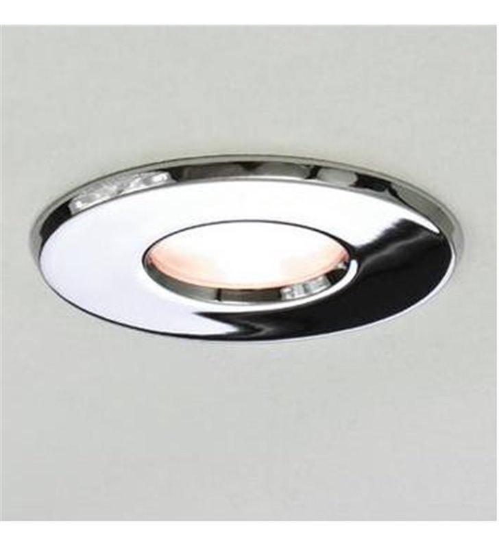 Okrągła oprawa punktowa do łazienki IP65 Kamo 230V chrom