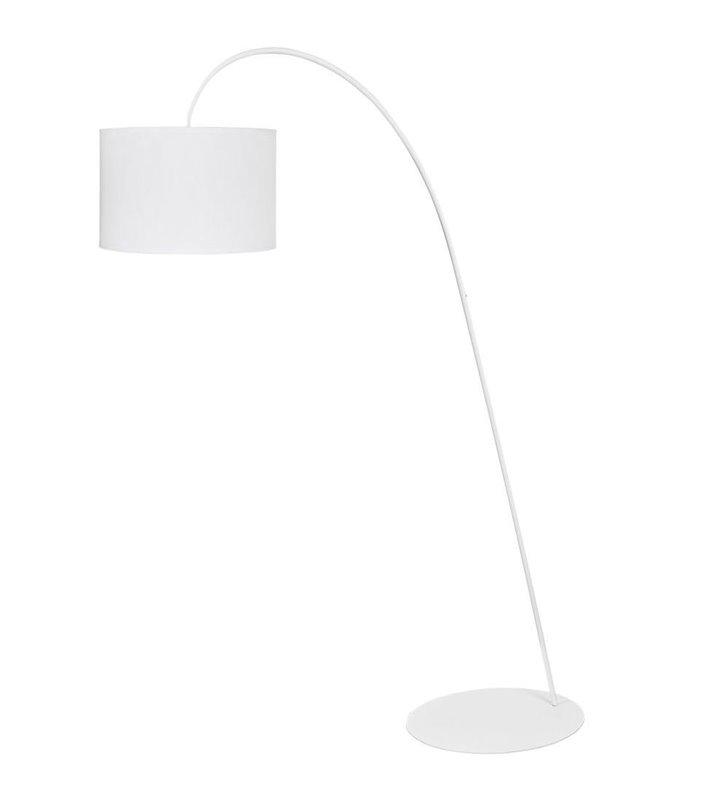 Lampa podłogowa Alice White duża biała