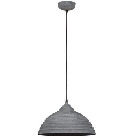 Lampa wisząca Concrete w kolorze betonu