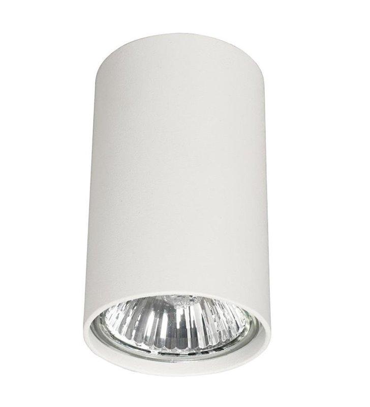Lampa sufitowa downlight Eye mała biała walec 5255