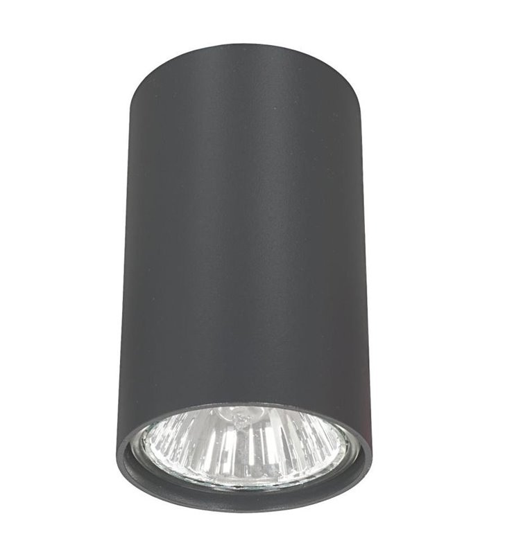Grafitowa lampa sufitowa downlight Eye graphite