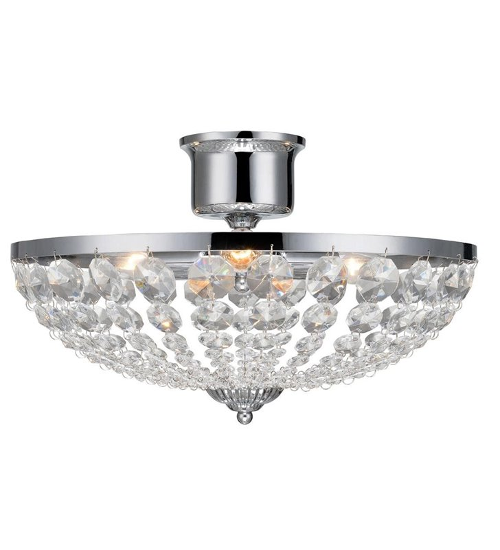 Lampa sufitowa Granso kryształowa