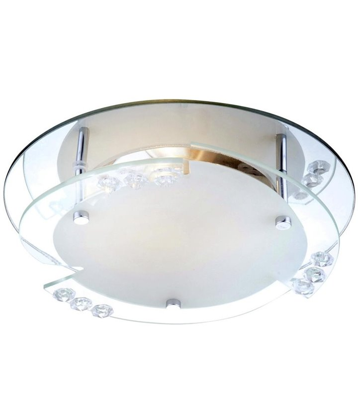 Plafon Armena 250 nieduży szklany ozdobny klosz - DOSTĘPNY OD RĘKI