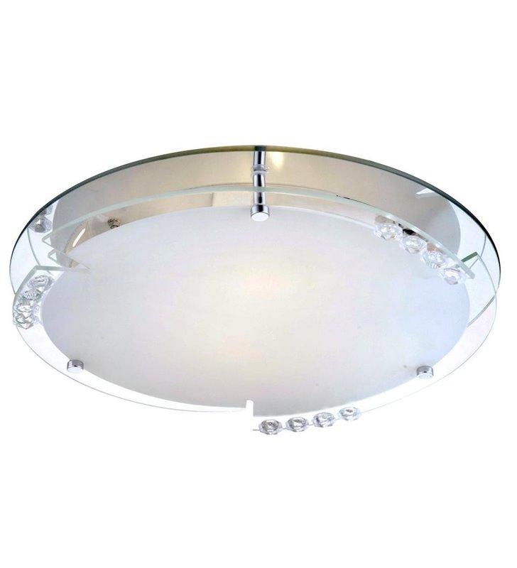 Plafon Armena 320 okrągły szklany klosz - DOSTĘPNY OD RĘKI