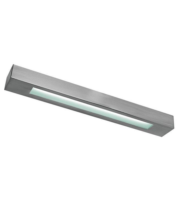 Lampa łazienkowa Satina Silver