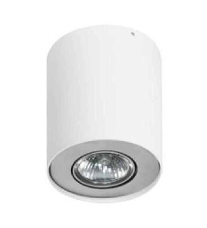 Lampa sufitowa Neos walec biała z aluminium - DOSTĘPNA OD RĘKI