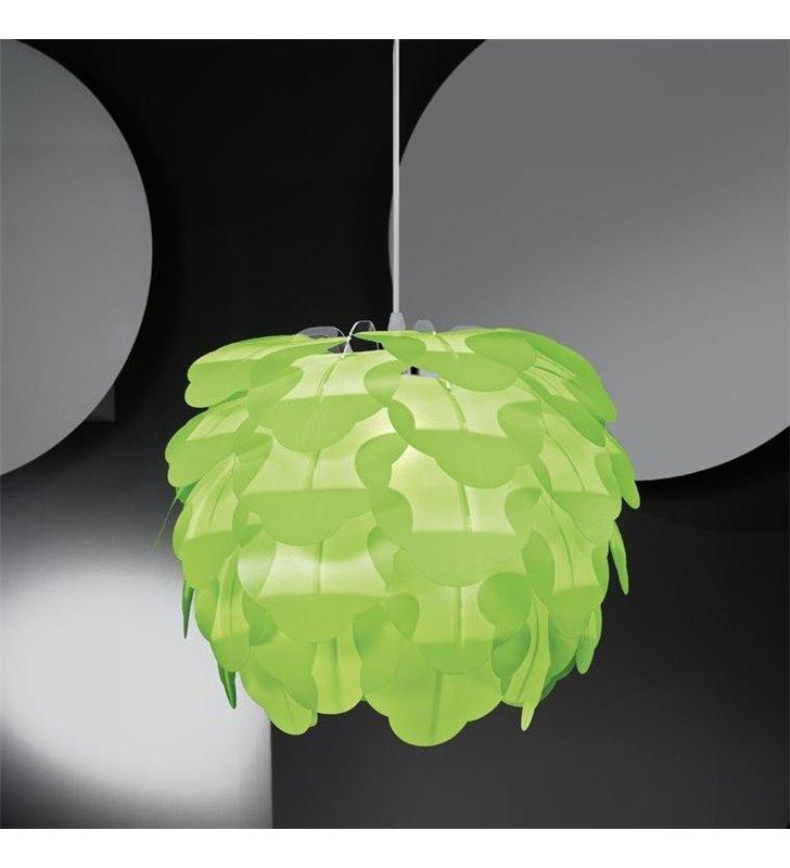 Lampa wisząca Filetta zielona klosz szyszka - DOSTĘPNA OD RĘKI