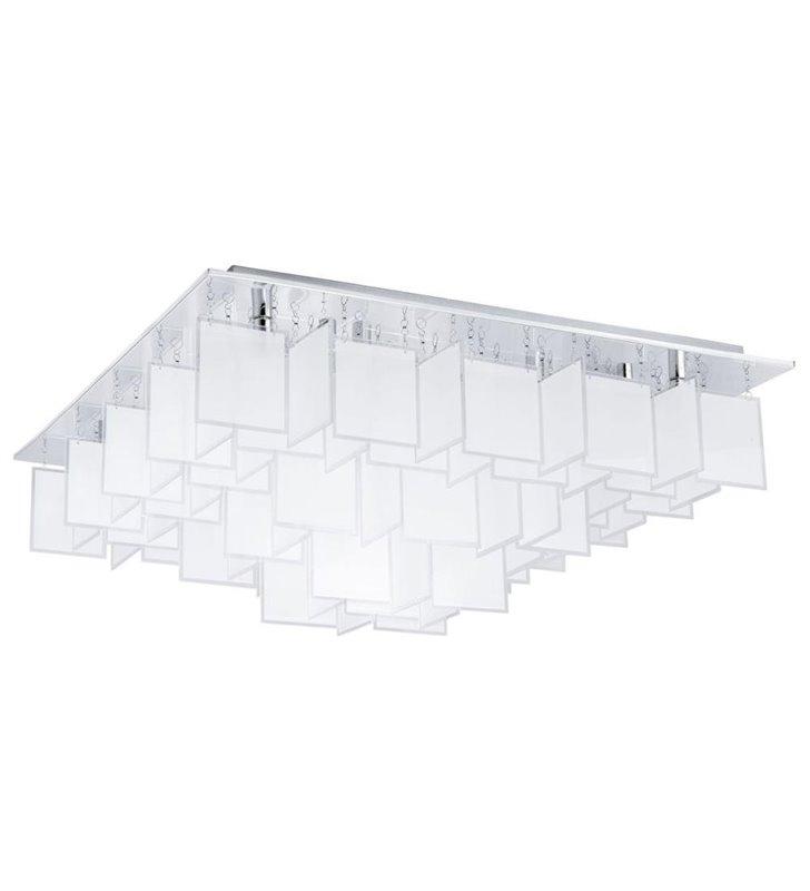 Lampa sufitowa Condrada1 770 duża dekoracyjna ze szklanymi kwadracikami