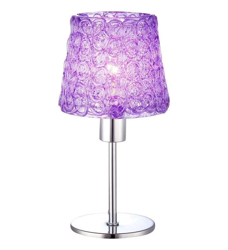 Lampka stołowa fioletowa Imizu - DOSTĘPNA OD RĘKI