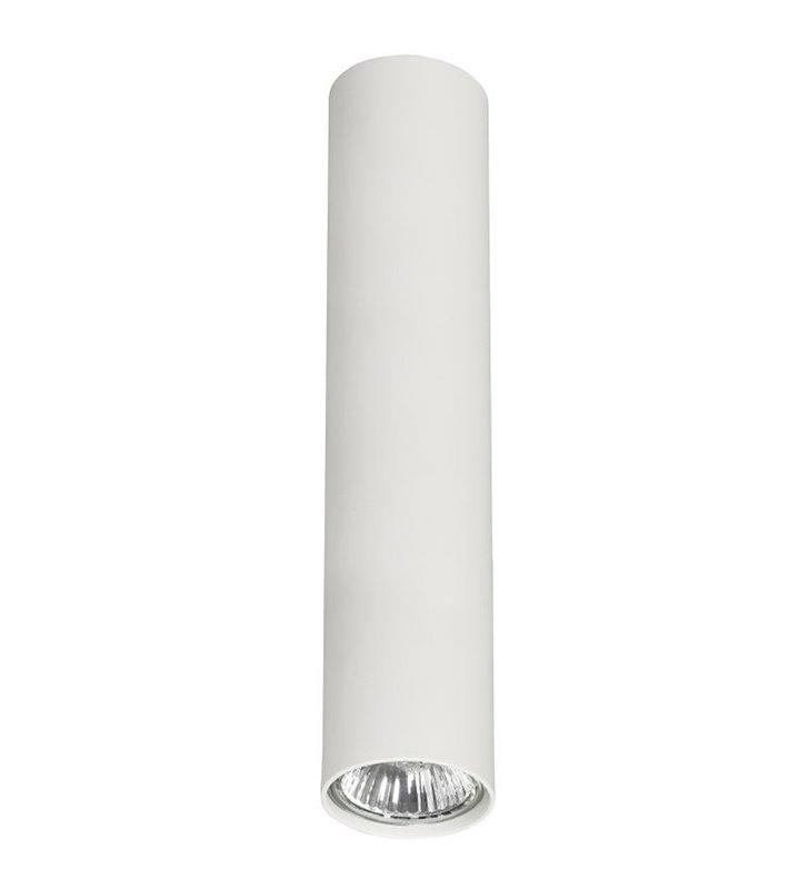 Lampa sufitowa Eye biała podłużny walec - DOSTĘPNA OD RĘKI