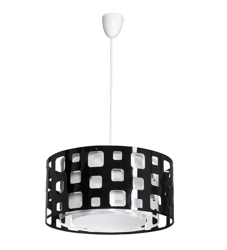 Lampa wisząca Mallow czarna nowoczesna