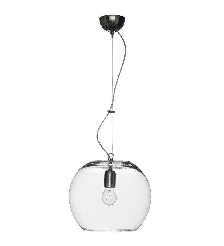 Lampa wisząca Ibiza Sphere kula bezbarwne szkło - DOSTĘPNA OD RĘKI
