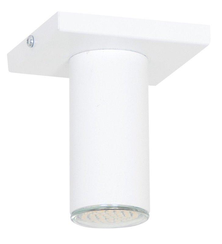 Lampa sufitowa Slim I biała nowoczesna - DOSTĘPNA OD RĘKI