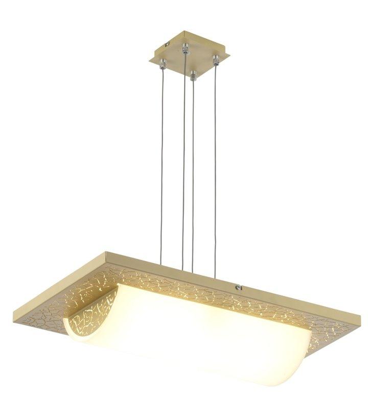 Kremowa lampa wisząca Refleks - DOSTĘPNA OD RĘKI