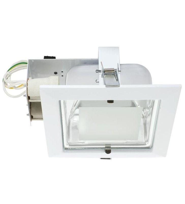Lampa sufitowa Downlight biała kwadratowa podtynkowa - DOSTĘPNA OD RĘKI