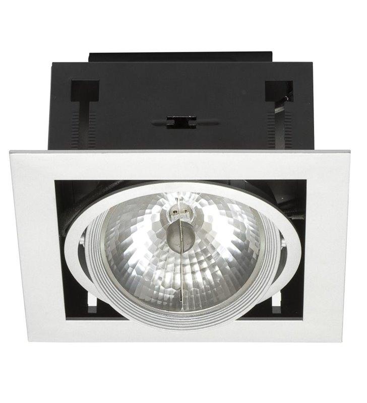Pojedyncza lampa sufitowa do wbudowania Downlight - DOSTĘPNA OD REKI