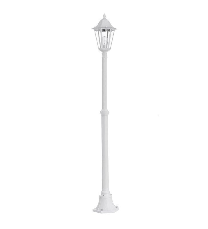 2m pojedyncza latarnia ogrodowa Navedo IP44 kolor biały