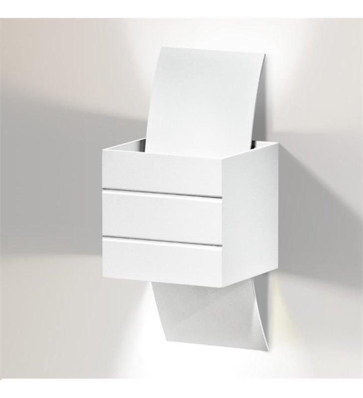 Kinkiet Vidal biały mały nowoczesny - DOSTĘPNA OD RĘKI