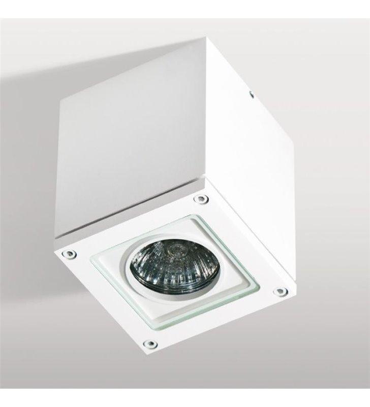 Sufitowa lampa zewnętrzna ogrodowa plafon Tonio kolor biały IP54