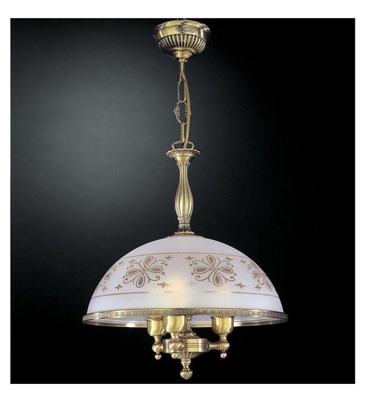 Lampa wisząca Benevento mosiądz