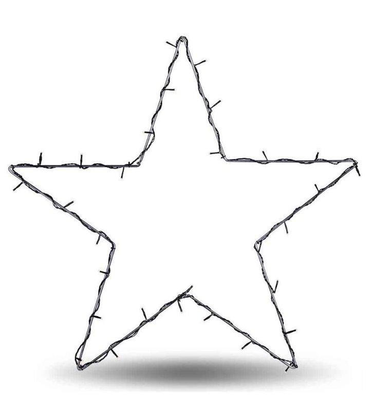 Zewnętrzna świecąca gwiazda lampa Nordgard