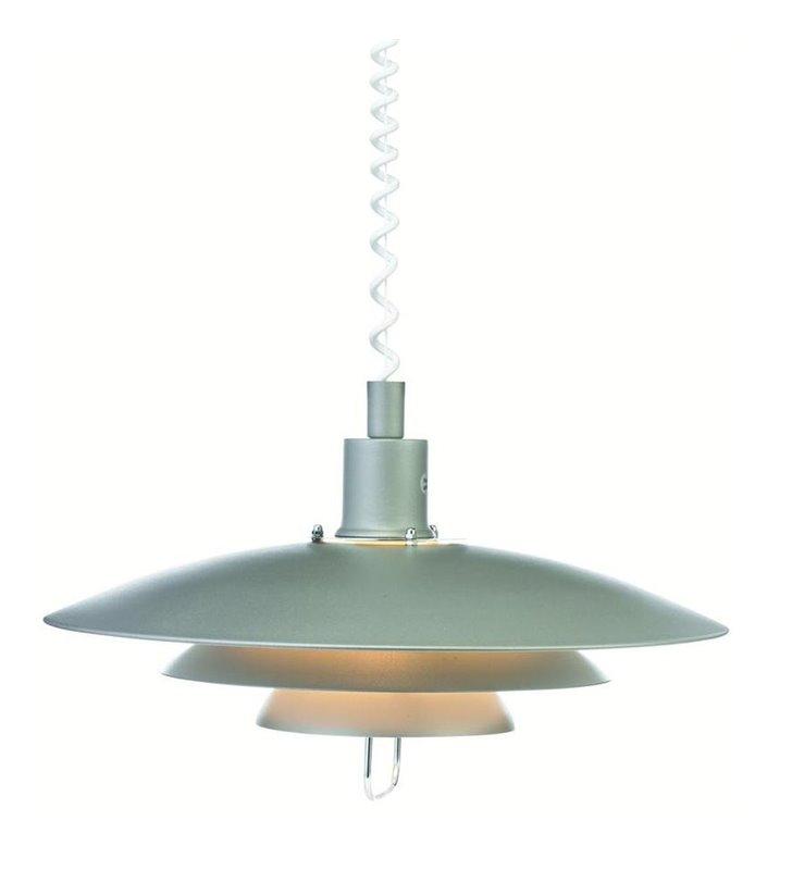 Lampa wisząca Kirkenes szara