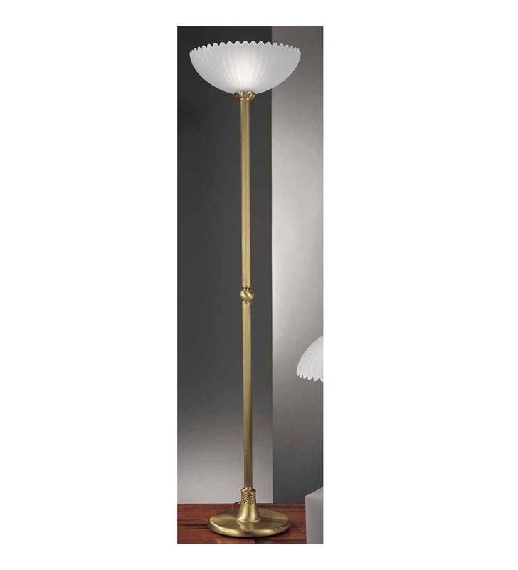 Lampa podłogowa Biancavilla mosiądz