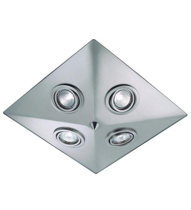 Plafon łazienkowy Pyramid stal