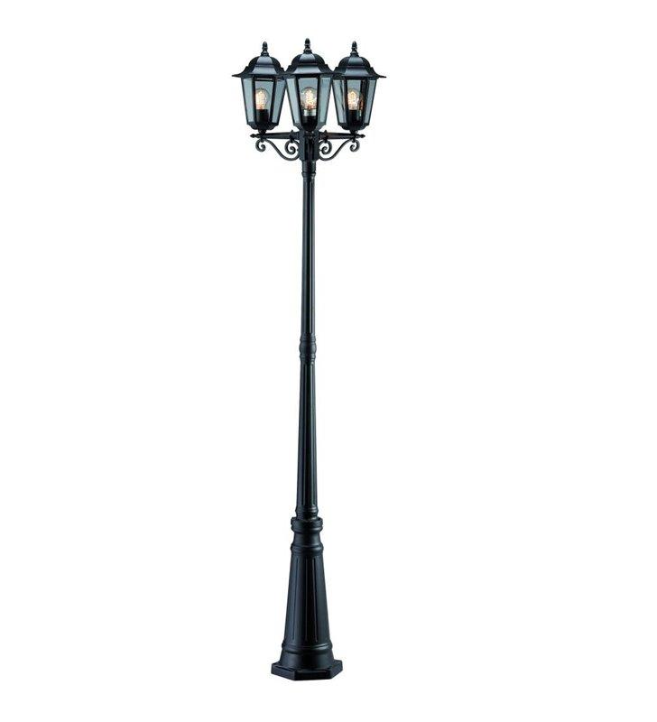 Lampa ogrodowa Naima czarna