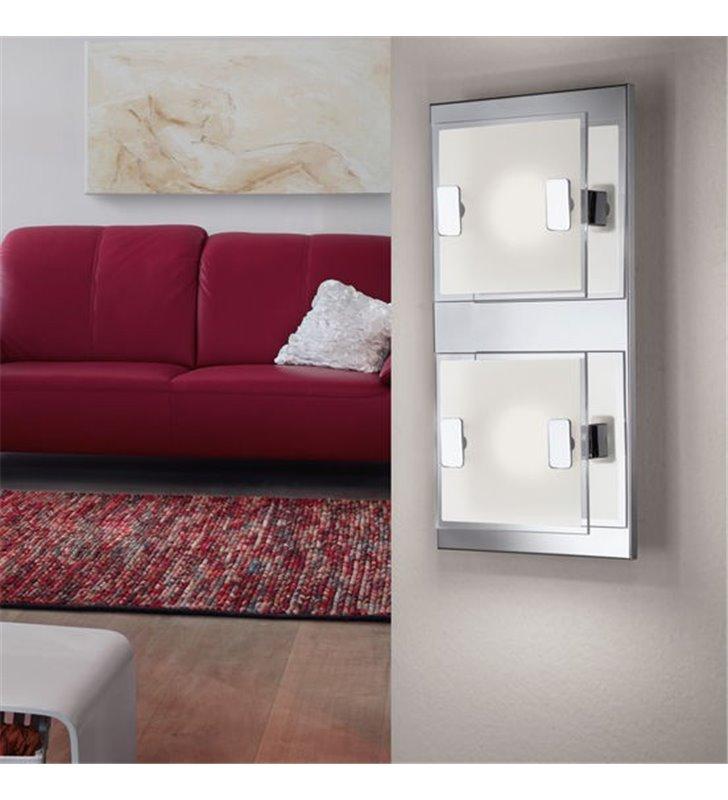 Plafon Vicaro LED mały prostokątny