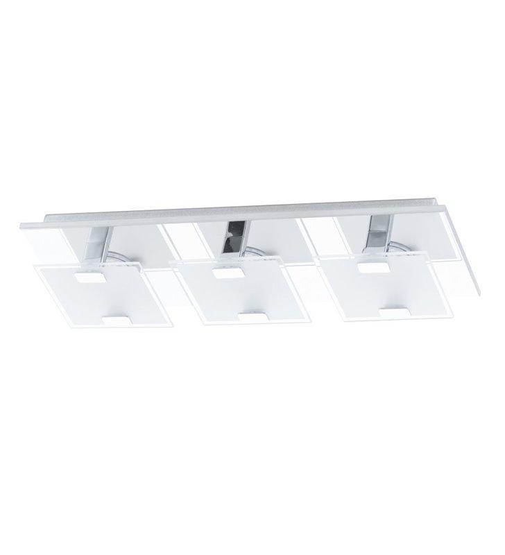 Plafon Vicaro prostokątny szklany nowoczesny