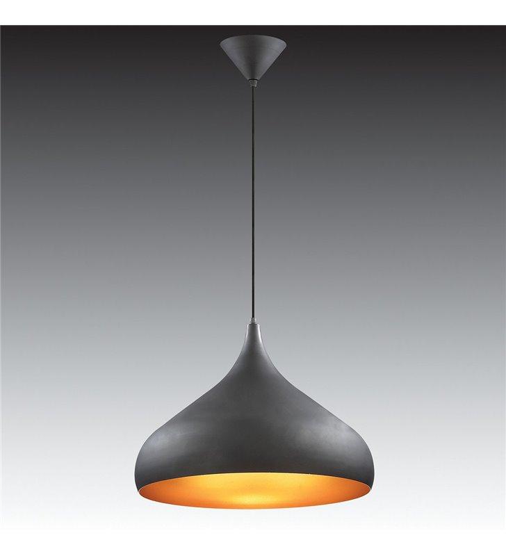Lampa wisząca Juan czarna nowoczesna