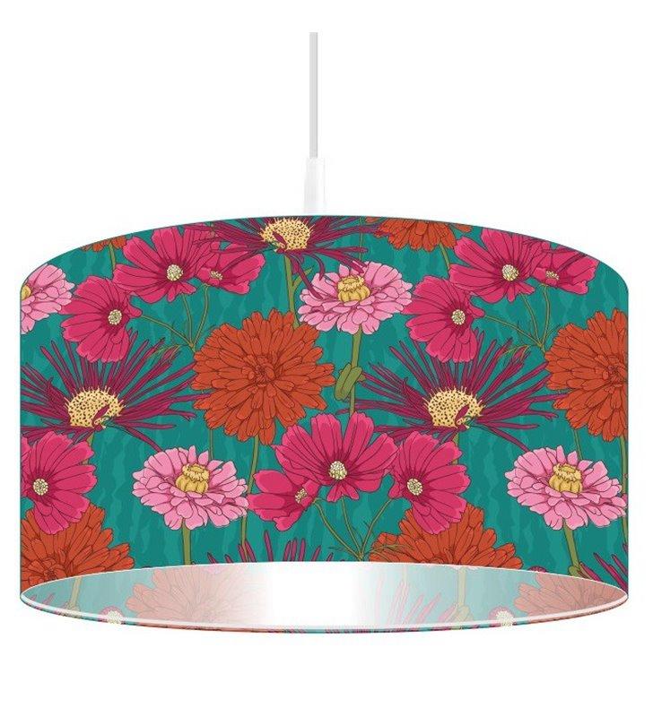 Kwiatowa lampa wisząca Bukiet Aksamitków
