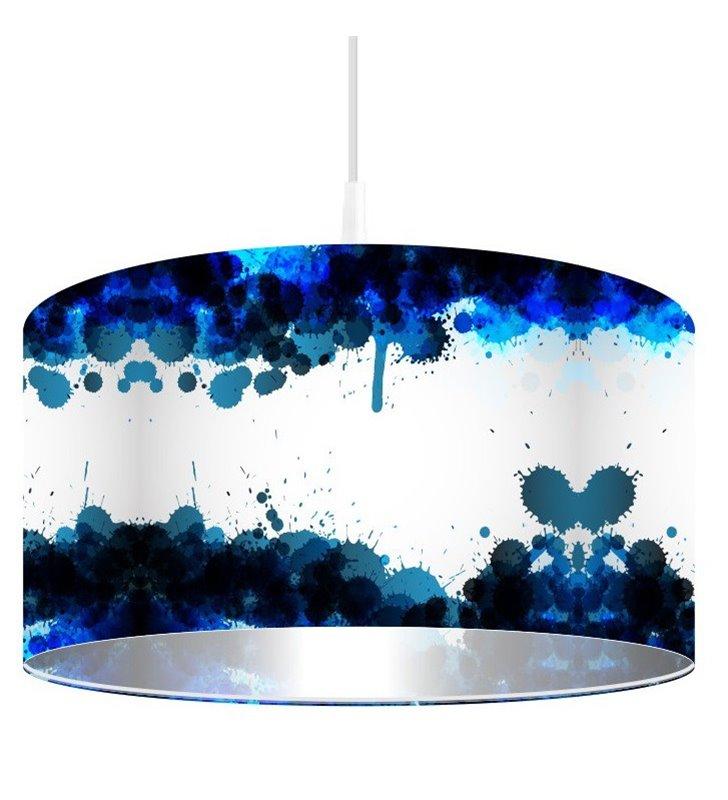 Lampa wisząca Magia Pigmentu do pokoju nastolatka kuchni sypialni salonu