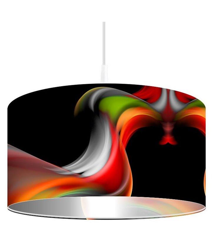 Lampa wisząca Magia Koloru okrągła w intensywnych barwach do salonu jadalni kuchni sypialni pokoju młodzieżowego