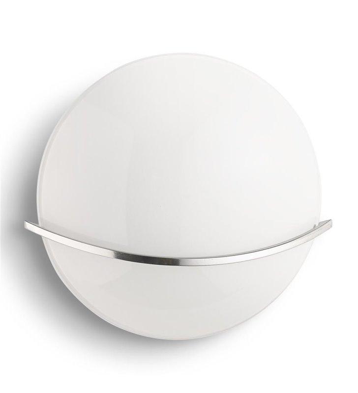 Kinkiet Buckeye nowoczesny okrągły do salonu sypialni jadalni na korytarz przedpokój hol - DOSTĘPNY OD RĘKI