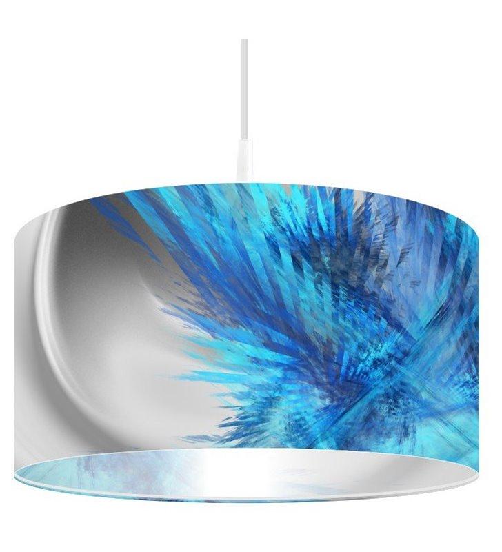 Lampa wisząca Magia Chabru nowoczesna do kuchni salonu sypialni jadalni