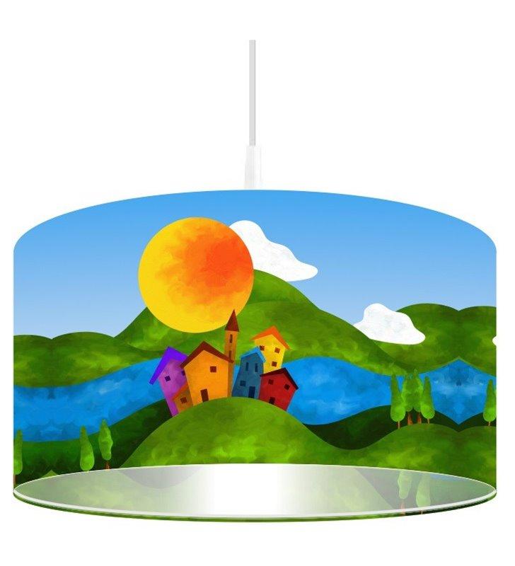 Dziecięca lampa wisząca Bajkowa Dolina 50cm