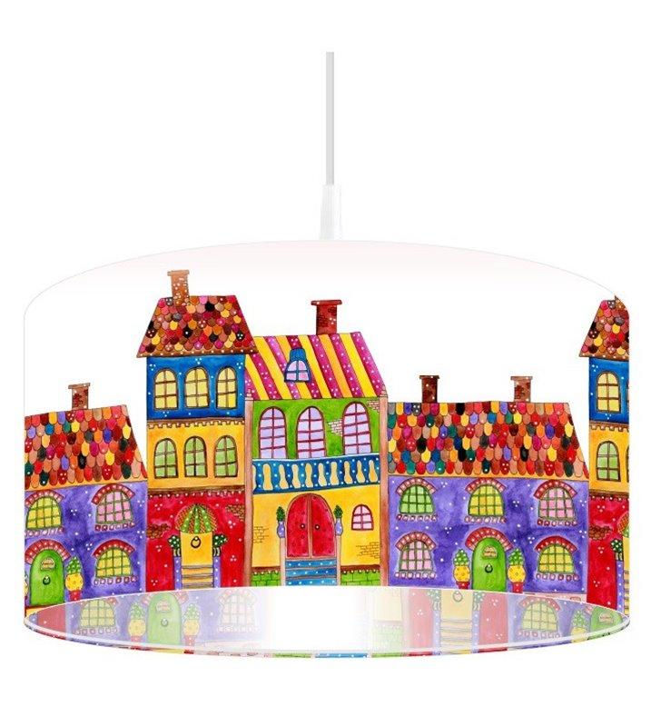 Lampa wisząca Kolorowe Domki
