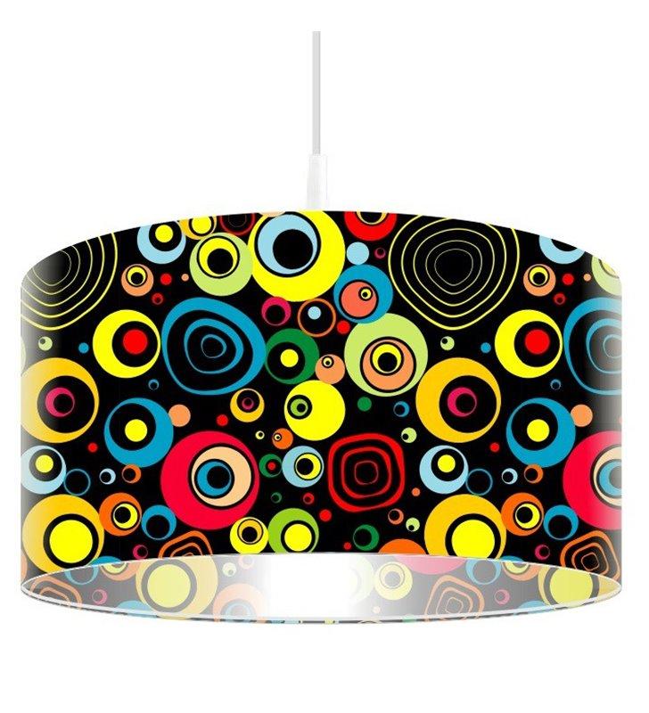 Kolorowa lampa wisząca Hip Hop