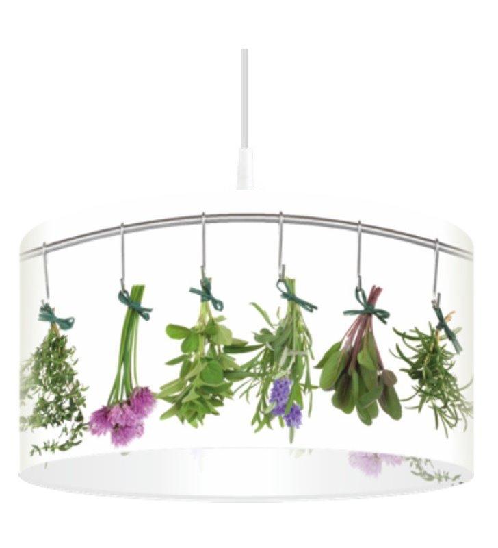 Lampa wisząca Pachnące Zioła idealna do kuchni i jadalni