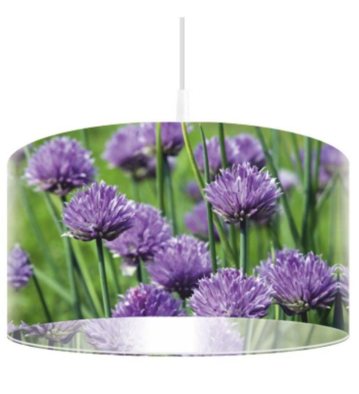 Lampa wisząca Soczysty Szczypior kolorowa w intensywnych barwach idealnie pasuje do kuchni jadalni nad stół