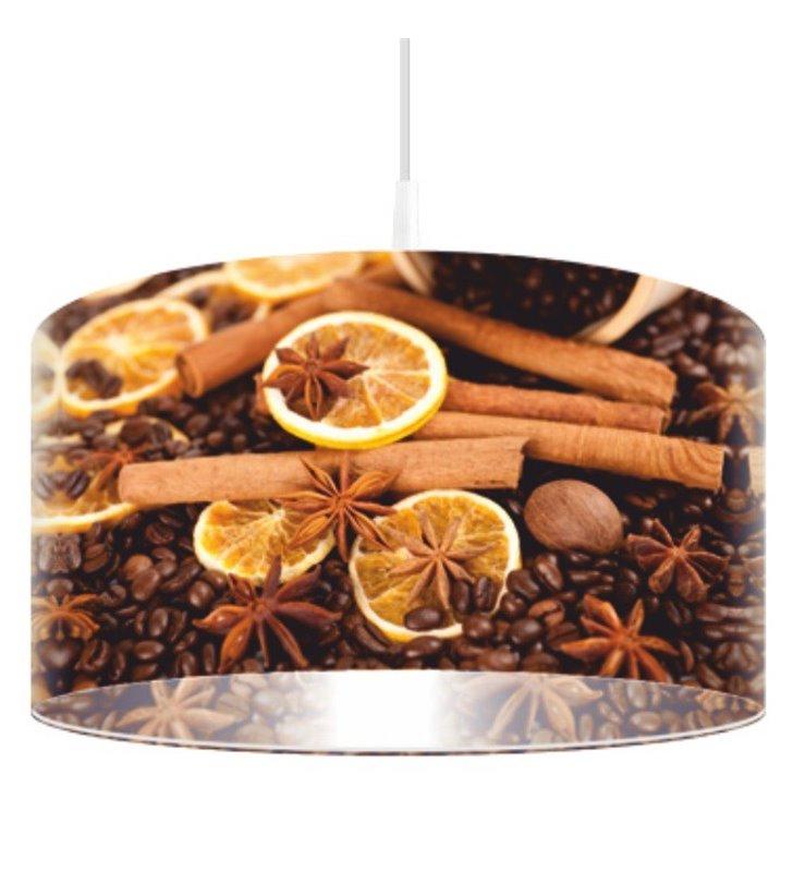 Lampa wisząca Kawa i Cynamon np. do kuchni jadalni