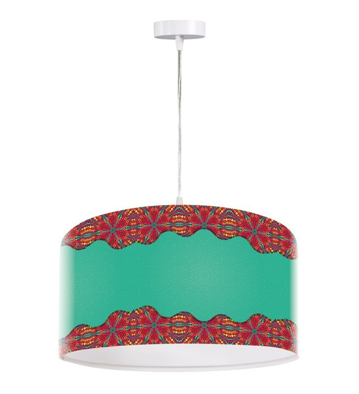 Kolorowa lampa wisząca Lazurowy Krzyk