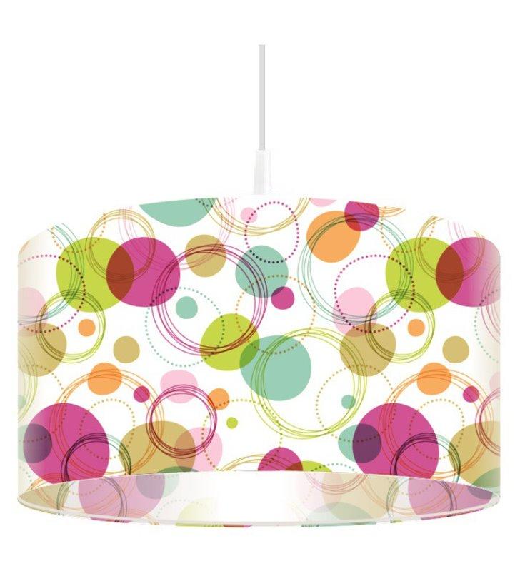 Kolorowa lampa wisząca Decoria
