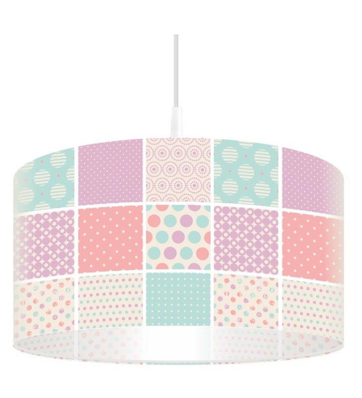 Pastelowa lampa wisząca Landrynkowy Raj do salonu jadalni sypialni kuchni pokoju dziecka 40cm