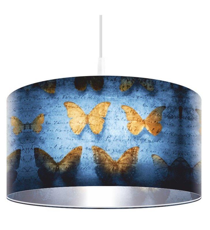 Lampa wisząca Ceylon z motylami