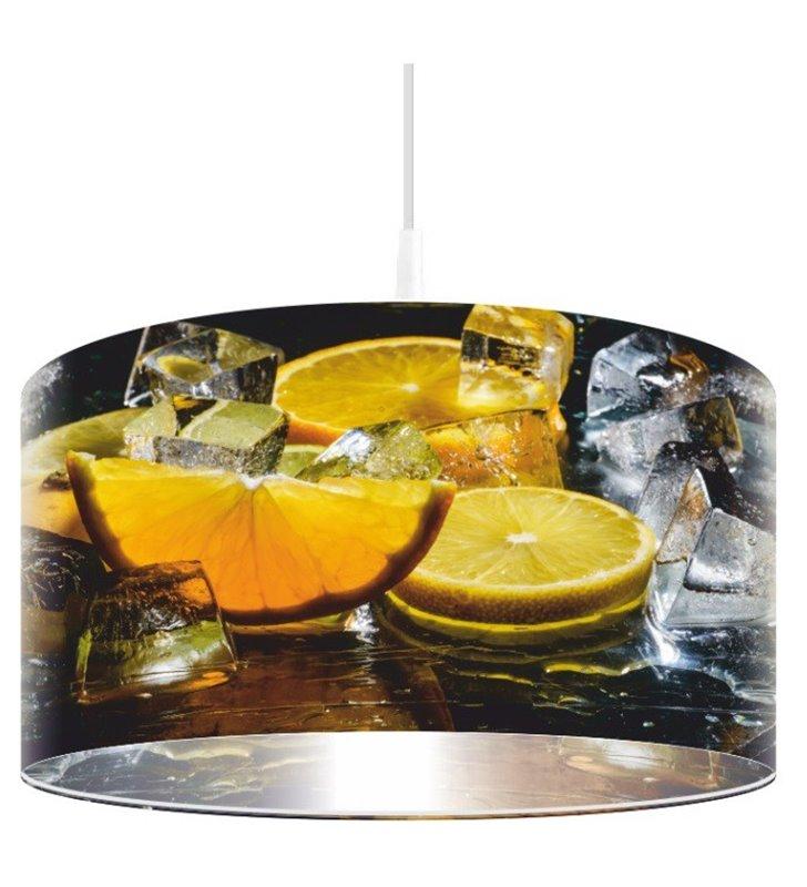 Kolorowa lampa wisząca Lodowate Cytrusy